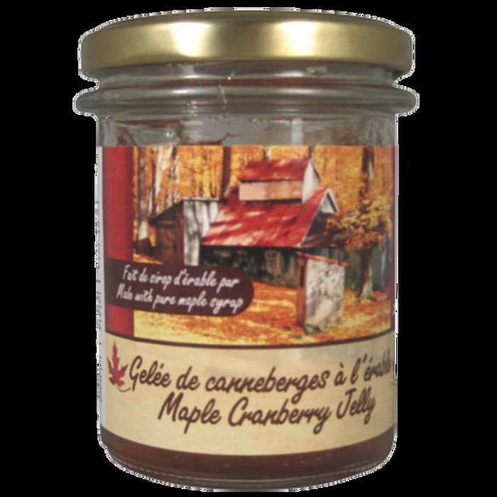 Maple Cranberry Jelly
