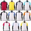 BCPOLO Casual  2 Tone White-Black Raglan Crew Neck Short Sleeves Shirt