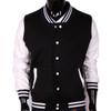 Bcpolo Baseball Jacket Black Cotton Baseball Jacket Varsity Jacket for your style