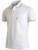 Short Sleeve Dri Fit Point Button Polo Shirt-Unisex