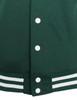 green-hem detail
