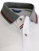 Short Sleeve Melange Polo shirt-Unisex