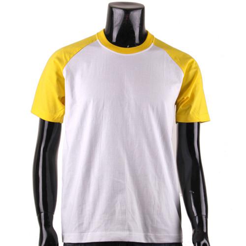 pt503-raglan White_Yellow-short