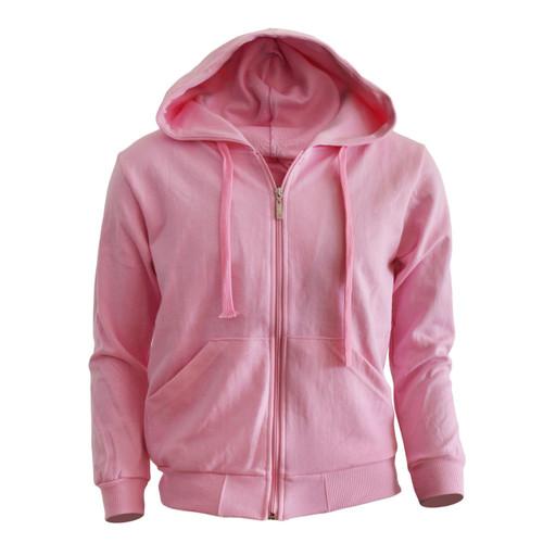 zip hoodie Light Pink hoodie Plain Solid zip up hoodie