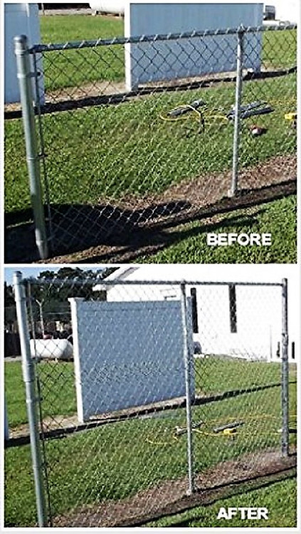 Extend A Fence Fence Extender 2 3 8 Quot Or 2 1 2 Quot Post
