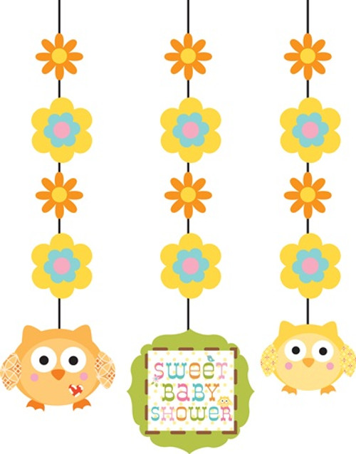 Woodland Happi Tree Hanging Cutouts (3)
