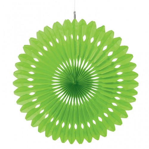 Paper kiwi green hanging fan decoration 1 baby shower host for Decoration kiwi