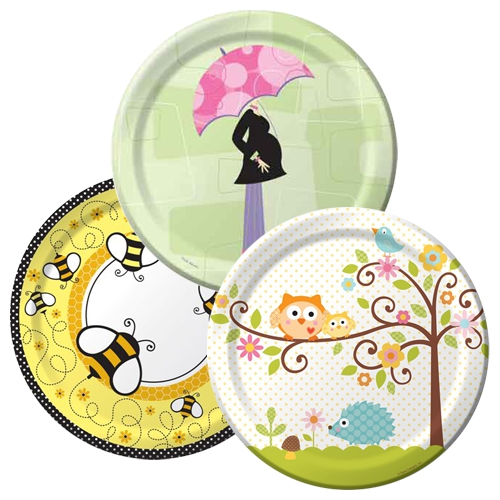 Charming Baby Shower Tableware Themes