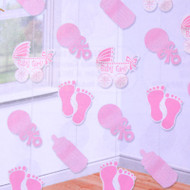 Baby Girl Hanging String Decorations 7FT Long