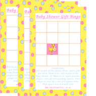 Baby Shower Stork Gift Bingo Game (1)
