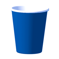 Navy Blue Cups (8)