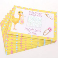 Baby Shower Stork  Scratch Cards (12)