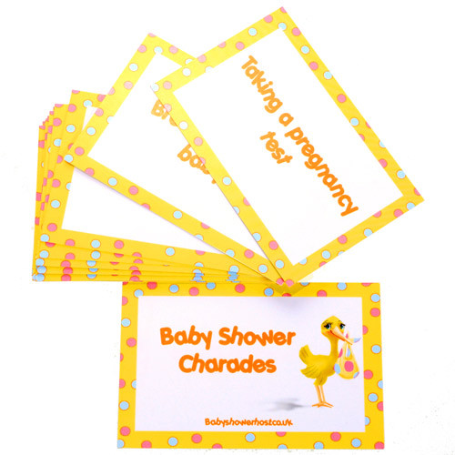 baby shower stork charades baby shower baby shower games