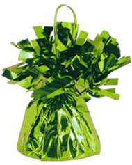 Lime Green Foil Balloon Weight (1)