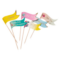 Truly Scrumptious Canape Flags (24)