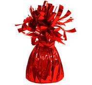 Red Foil Balloon Weight