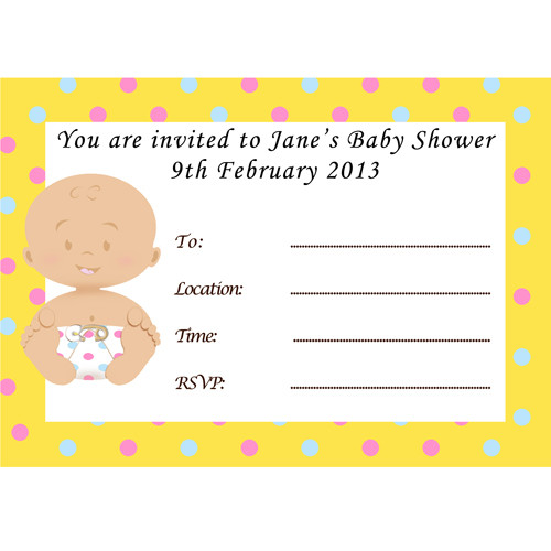 baby shower host white invites 8 baby shower host