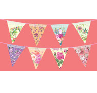 Charming Chintz Floral Bunting (4m)