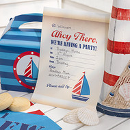 Nautical Paper Invitations (10)
