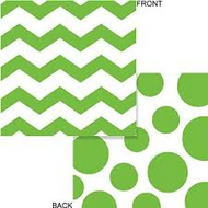 Chevron Fresh Lime Napkins (16)