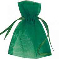 DIY Organza Bags Green (10)