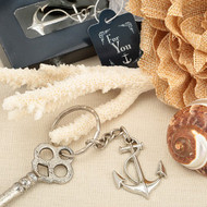 Ocean Themed Anchor Key Chain Favour