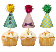 Frills and Frosting Hat Cake Toppers (24)