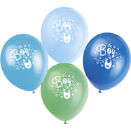Blue Clothesline It's a Boy Latex Balloons (8)
