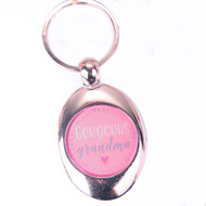 Gorgeous Grandma Keyring with Trolley Token