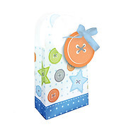 Cute as a Button Boy Favour Bags (12)