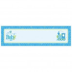 Welcome Baby Boy Personalised Giant Banner