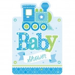 Welcome Baby Boy Invitations (8)