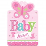 Welcome Baby Girl Invitations (8)