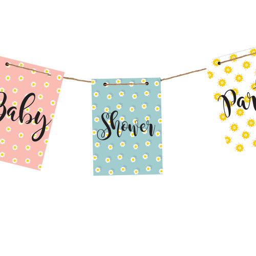 Baby shower banner decoration ki Baby shower banners
