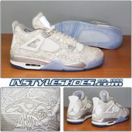 Air Jordan 4 Laser 705333-105 Chrome