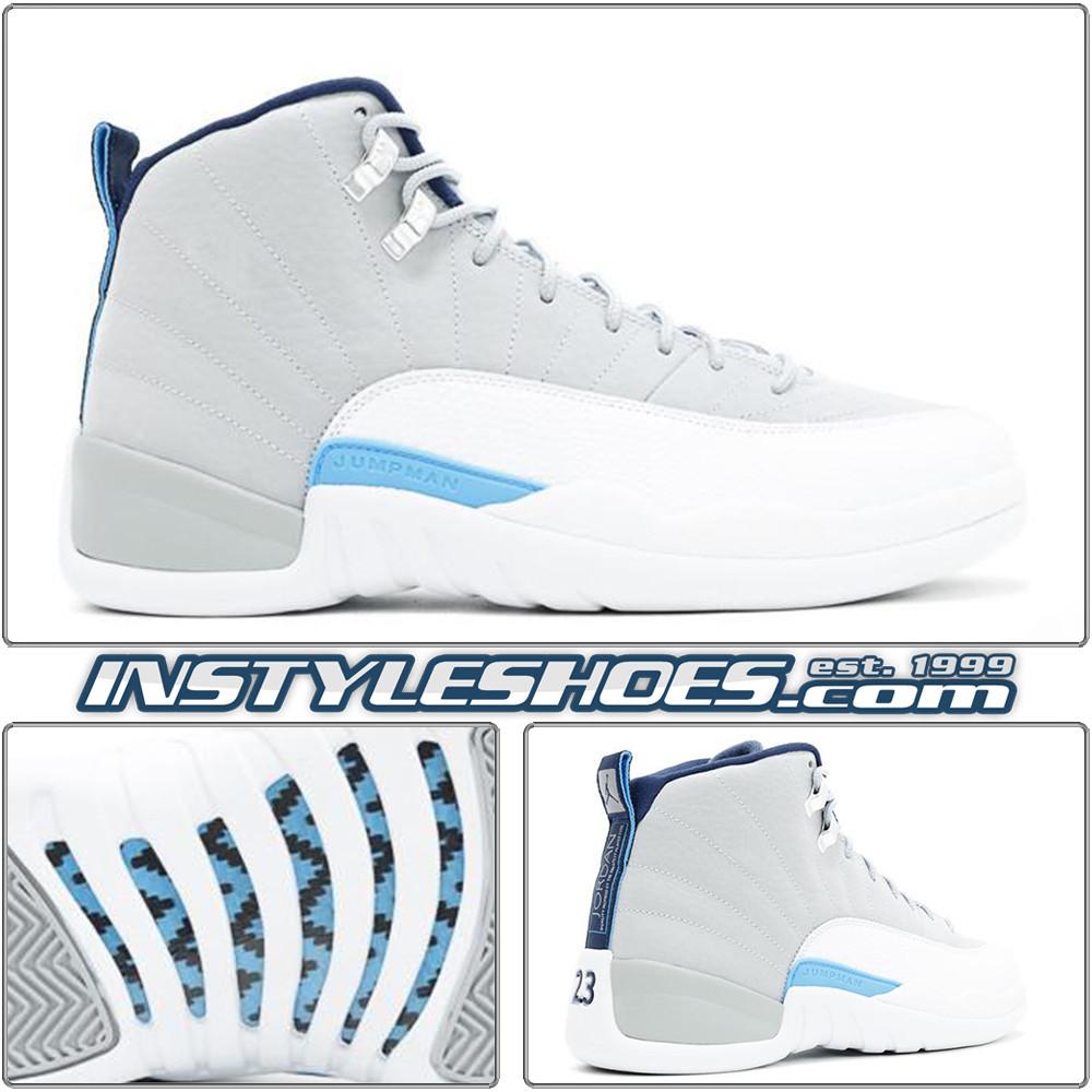 best cheap b6223 5183b Air Jordan 12 UNC 130690-007 Wolf Grey