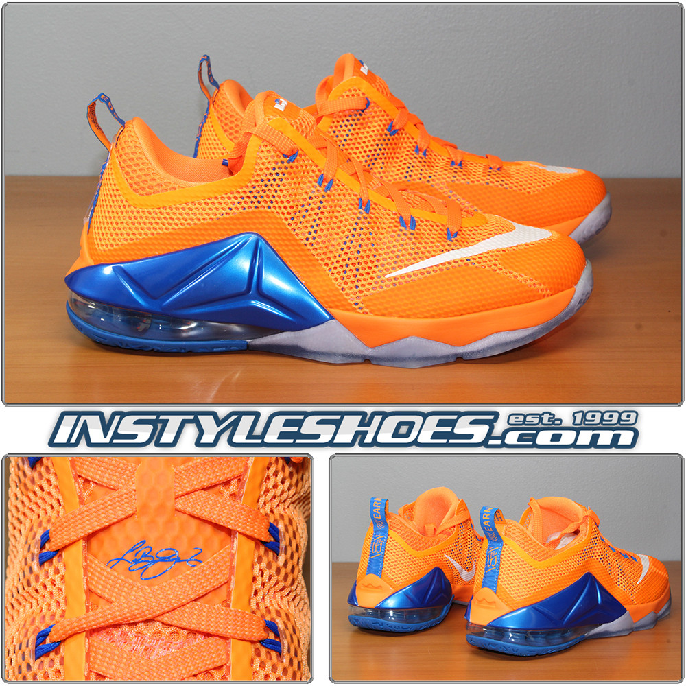 outlet store 3f847 c7841 Nike Lebron XII Low GS Citrus 744574-838
