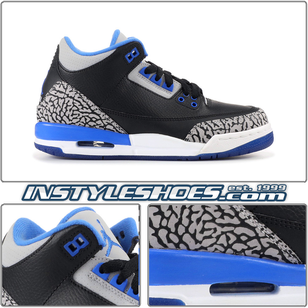 finest selection b04cb 4abc1 ... inexpensive air jordan 3 gs sport blue 398614 007 36645 ad23d