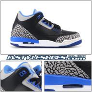 Air Jordan 3 GS Sport Blue 398614-007