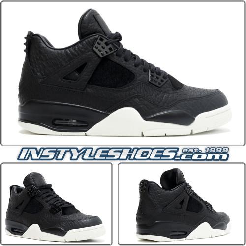 Air Jordan 4 Pinnacle Black 819139-010