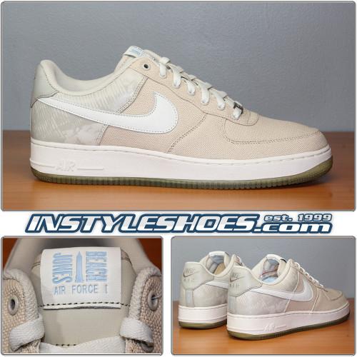 separation shoes eb30d efc68 Jones Mens Nike Air Force 1 Low Retro Jones Beach 845053-203 Air Force 1  Premium Jones Beach 845053-203 ...