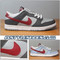 Dunk Low Team Red (Reflective) 624044-063