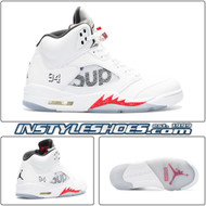 Air Jordan 5 Supreme White 824371-101