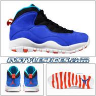 Nike Air Jordan 10 Retro Tinker Racer Blue Black 310805-408
