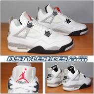 Air Jordan 4 IV Retro White Cement 136013-101 1999