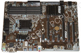 MSI Z170A PC MATE LGA 1151 Intel Z170 HDMI SATA 6Gb/s USB 3.1 ATX Intel Motherbo