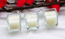 Square Cube Table event candles
