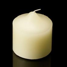 8x8cm pillar stump candle - 19 hour burn time