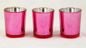 Rose Pink Tealight Candle Holder