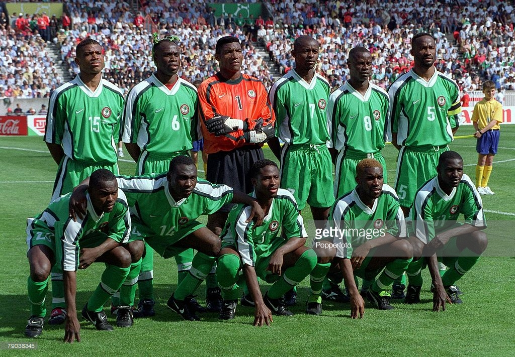 on sale bec88 bccdf How Nigerian World Cup Jerseys Have Evolved Since 1994 - ONCHEK